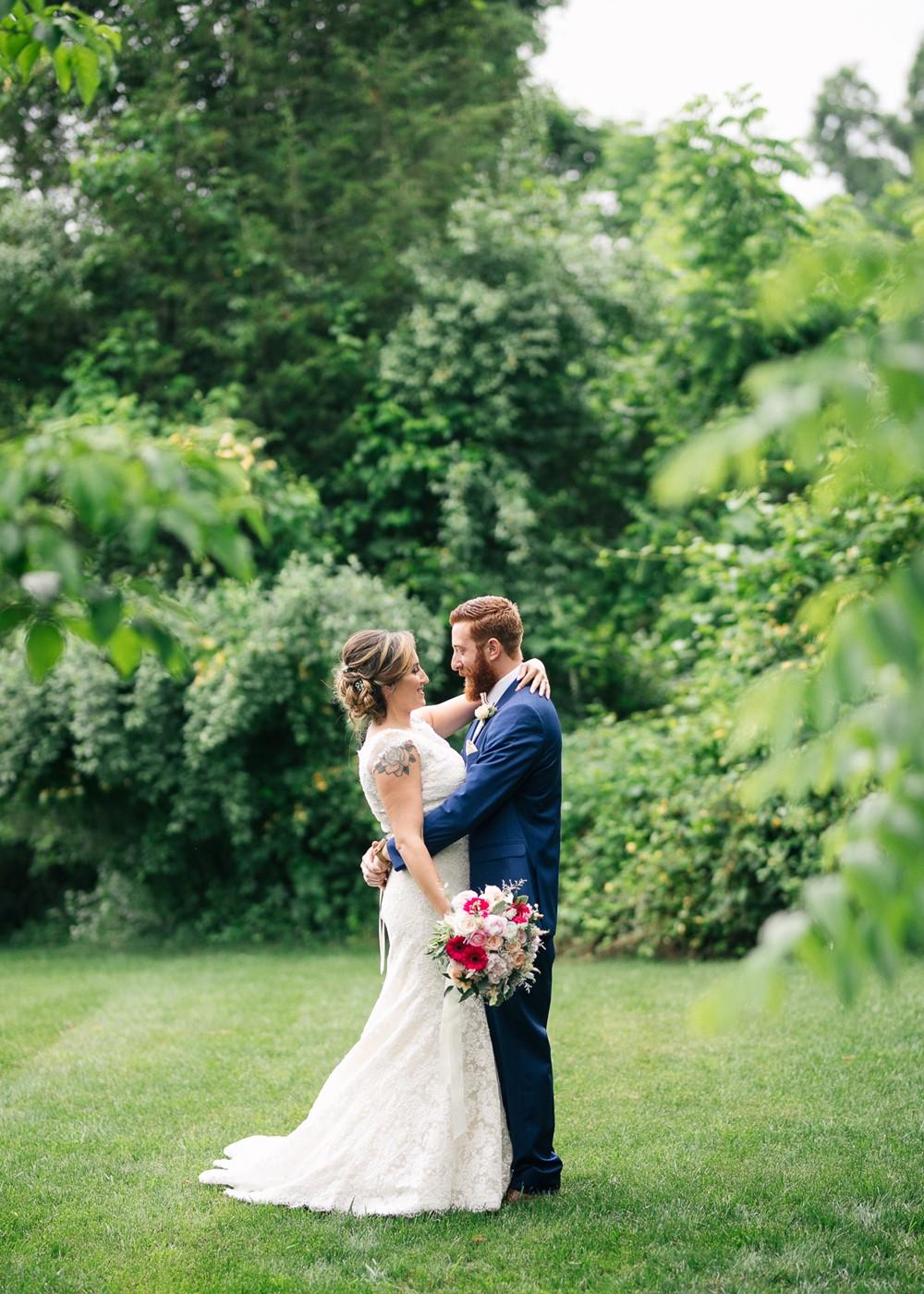 AJ & Kristin's Romantic Rustic-Vintage Barn Wedding