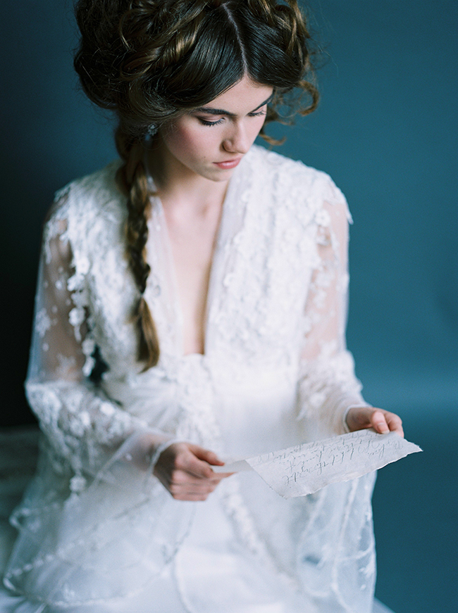 Edwardian Inspired Bride