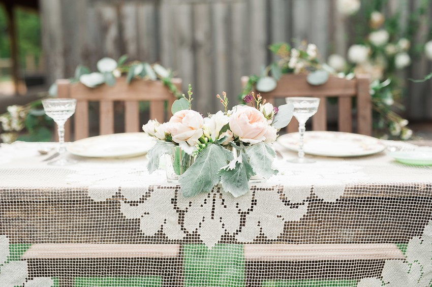Rustic Vintage Wedding Table