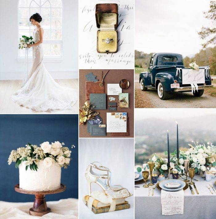 Early Autumn Mist - Fall Wedding Inspiration with Rustic Elegance