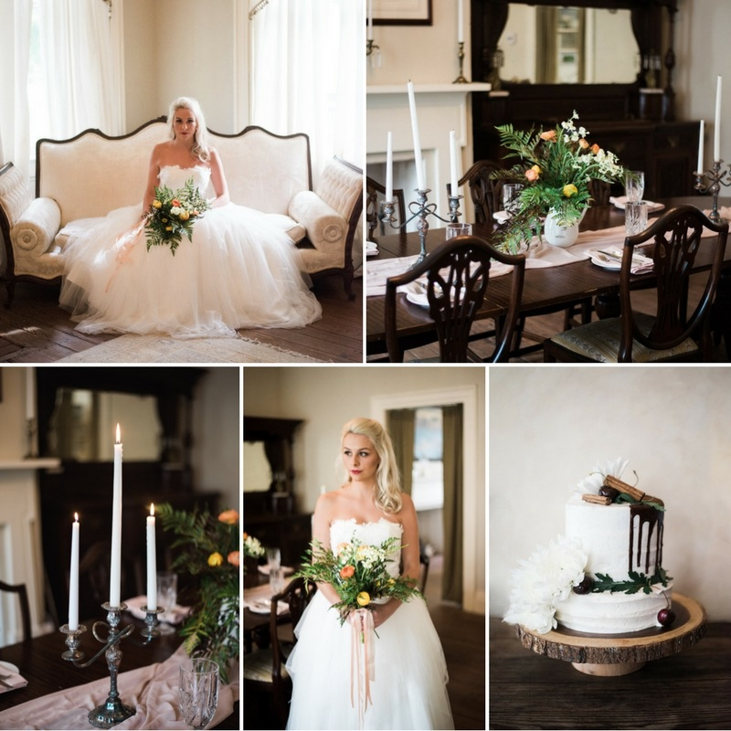 Fall Vintage Wedding Inspiration At The Palo Alto Plantation