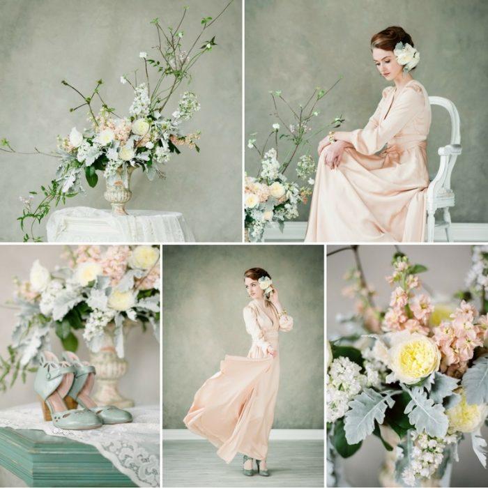 Fine Art Spring Bridal Inspiration