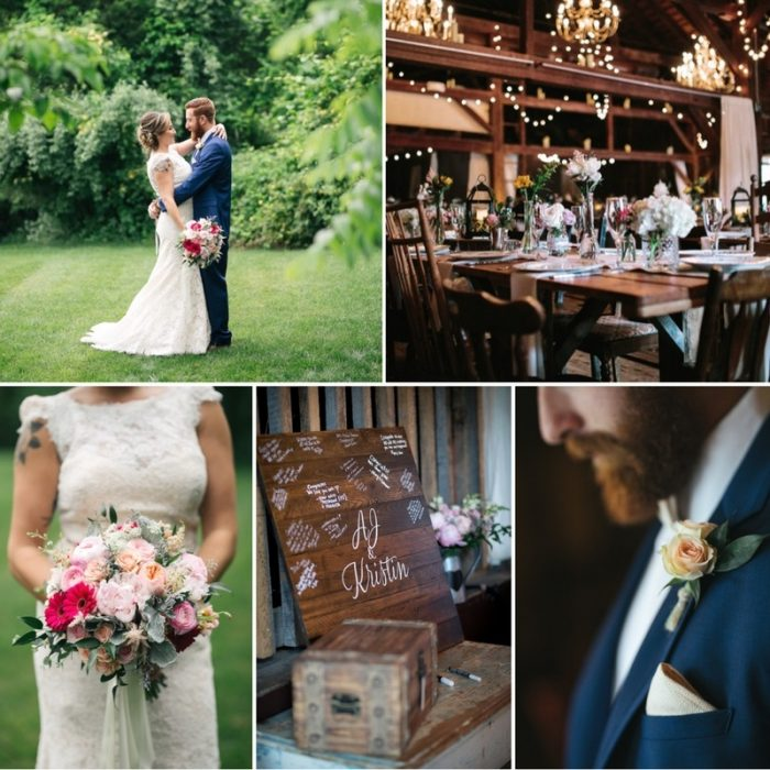 A Relaxed & Rustic DIY Wedding at Jack's Barn