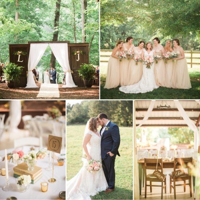 Meaningful & Romantic Rustic Wedding