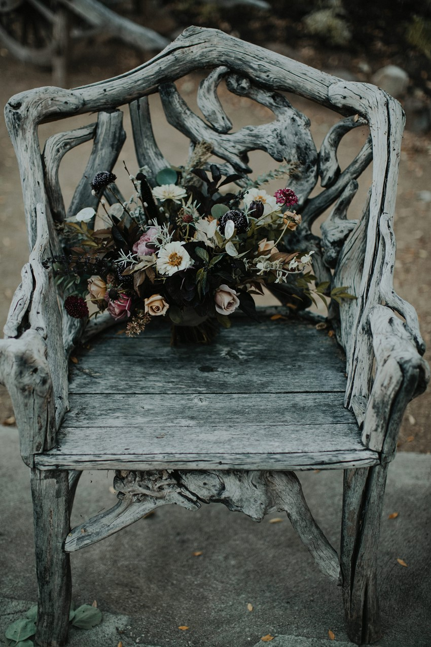 Halloween Wedding Bridal Bouquet