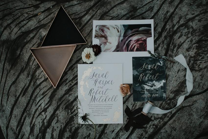 Halloween Wedding Stationery