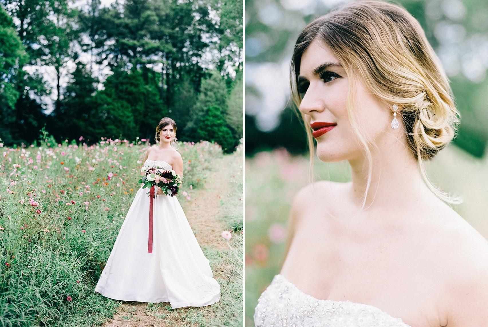 Timelessly Elegant Bridal Look
