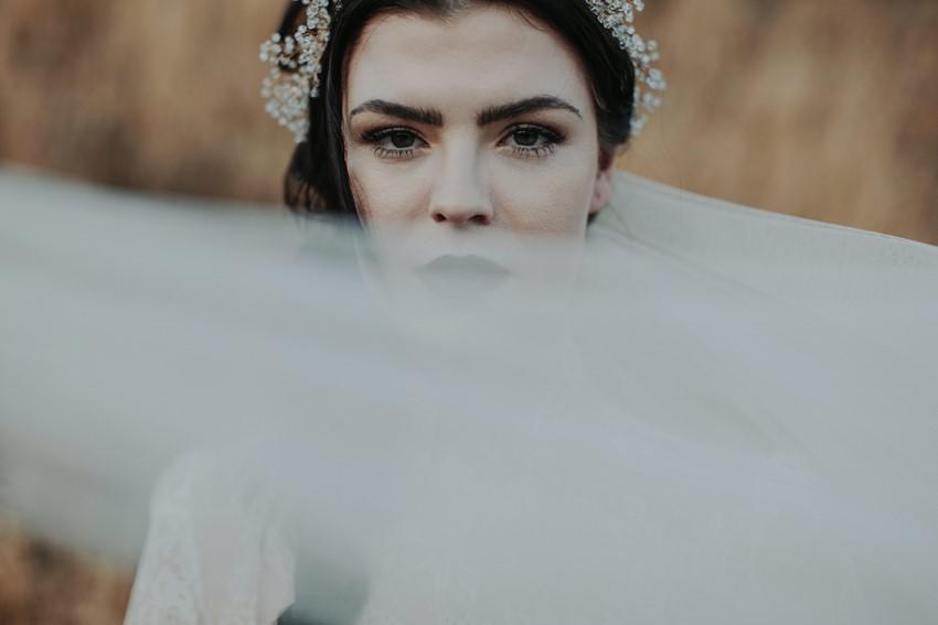 Halloween Bridal Makeup