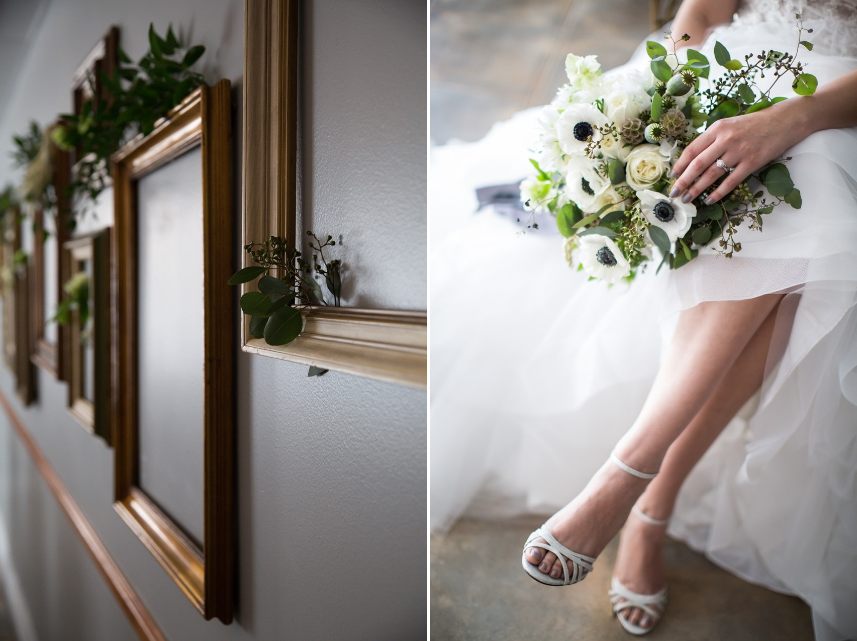 Glamorous Greenery & Gold Wedding Inspiration