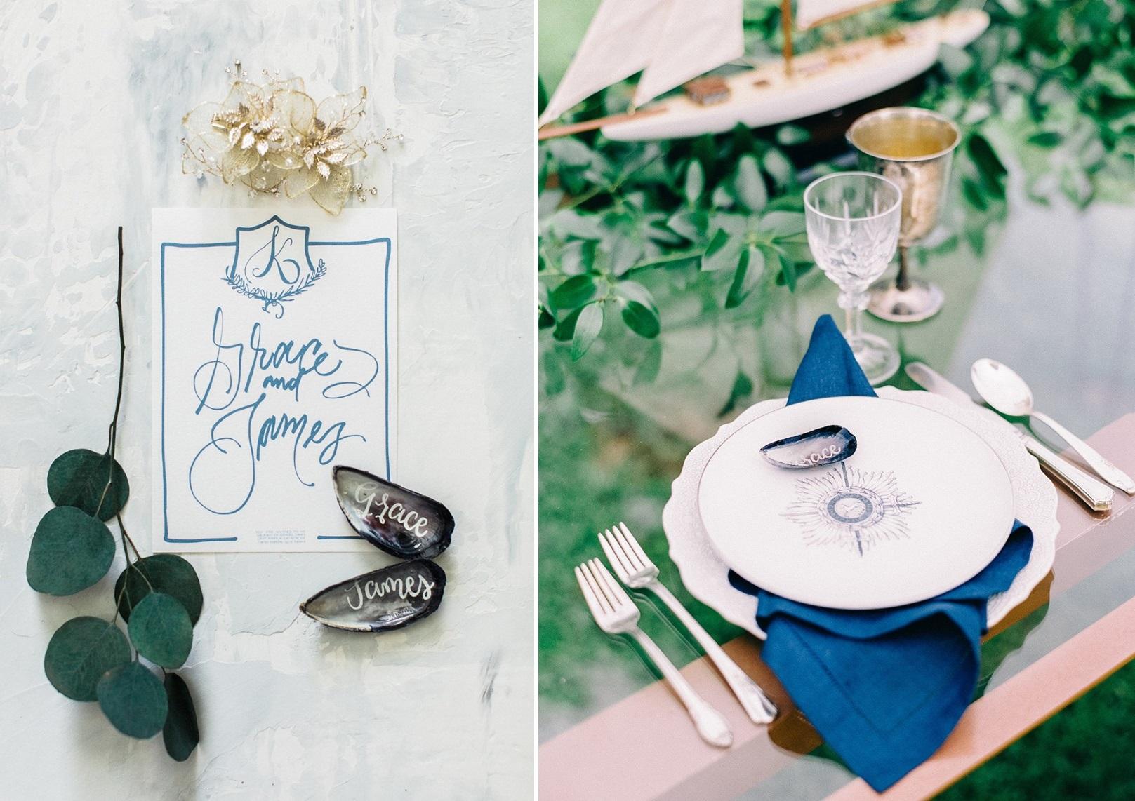 Nautical Wedding Table