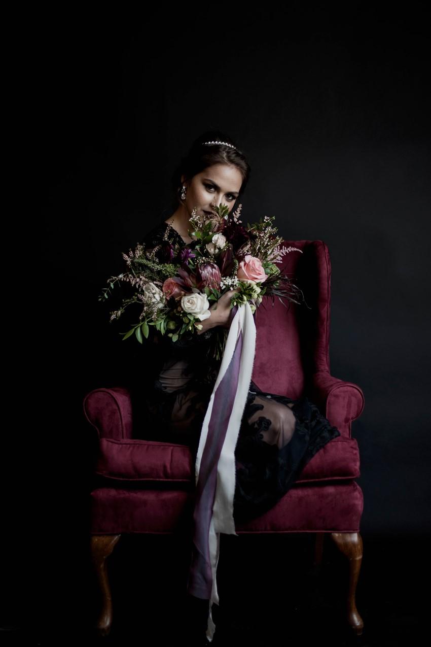 Gothic Romantic Halloween Bride