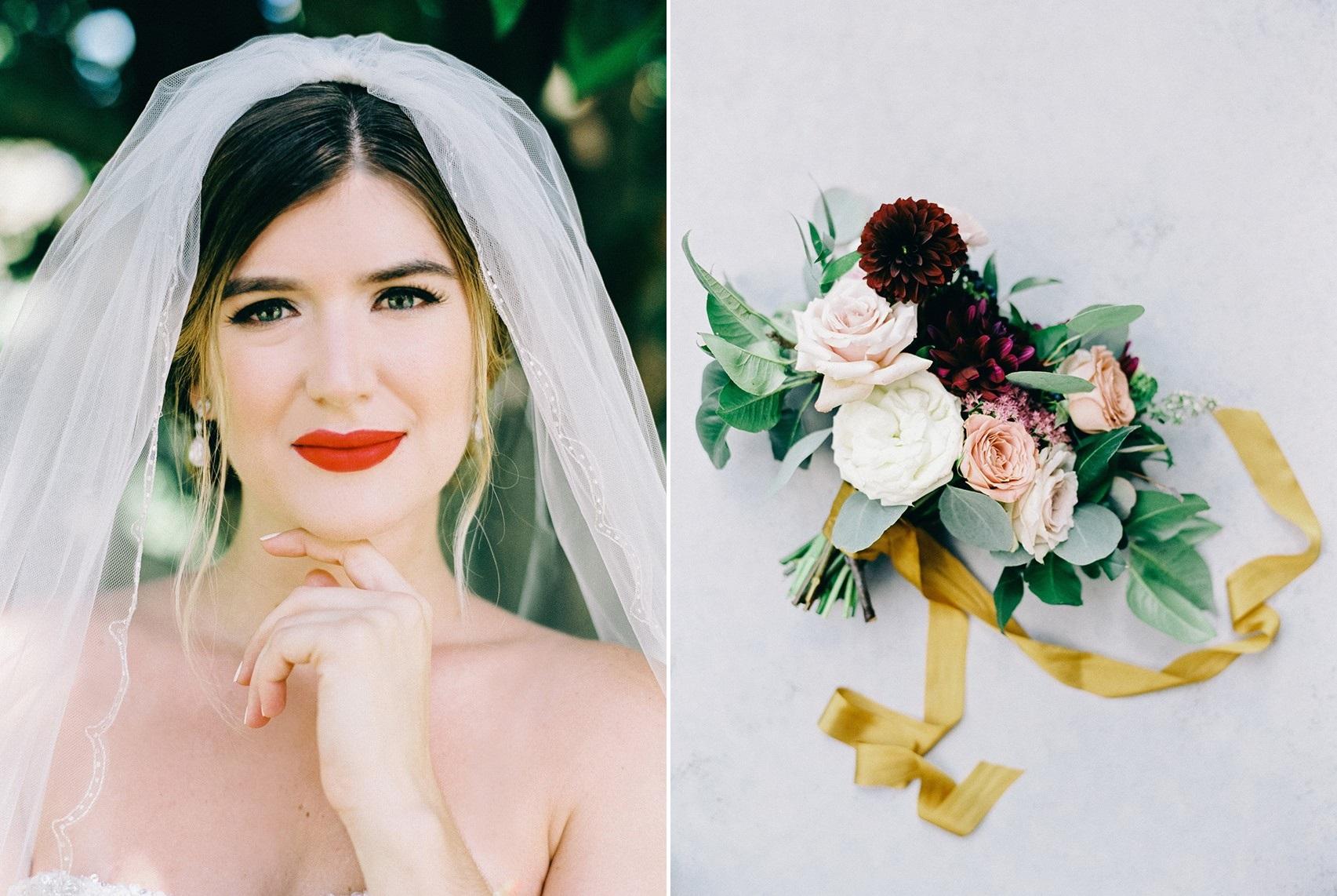 Vintage Inspired Bridal Makeup