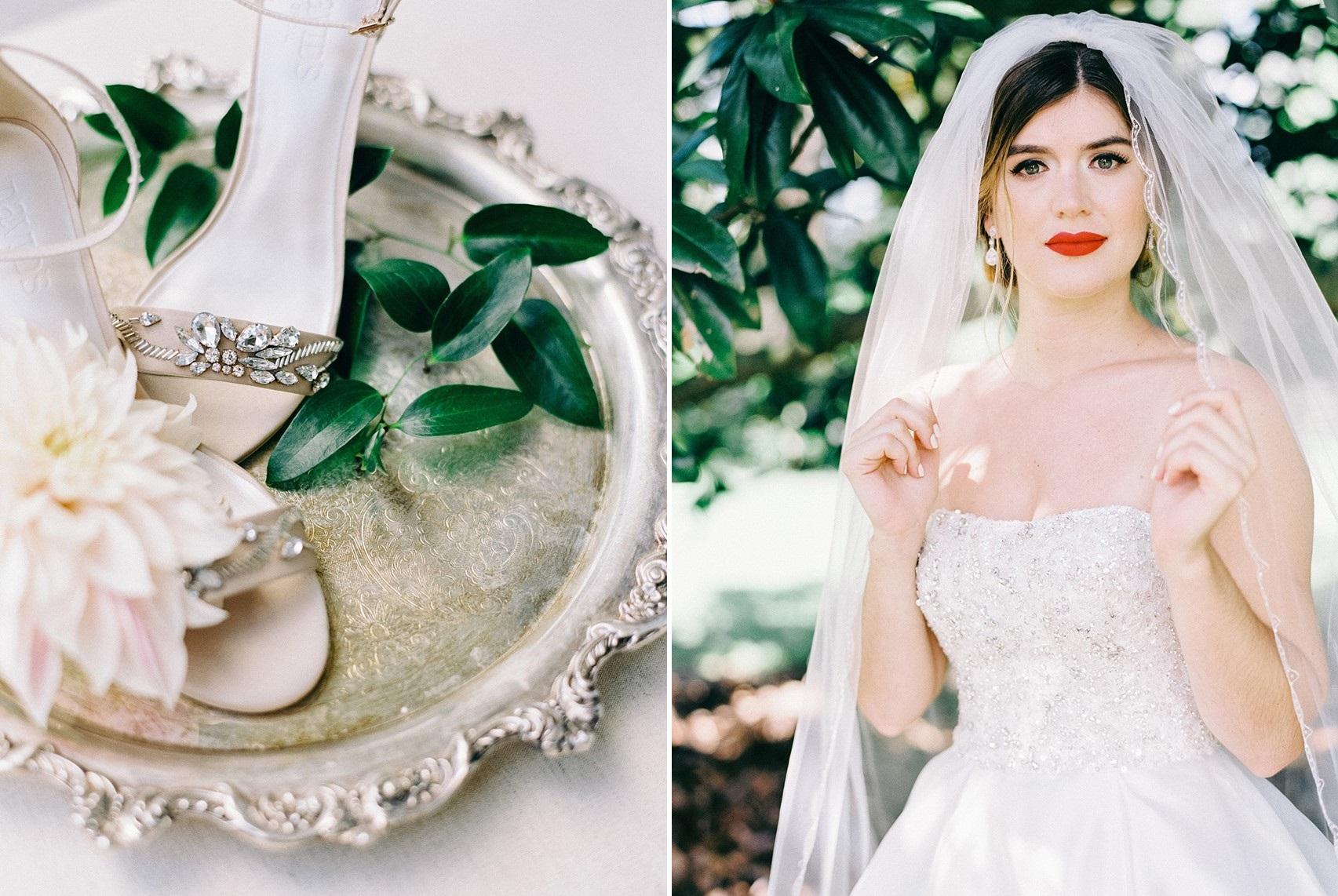 Vintage Inspired Bridal Veil