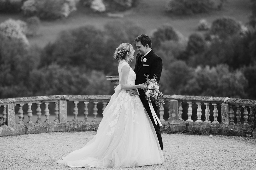 Romantic Vintage Inspired English Bride & Groom