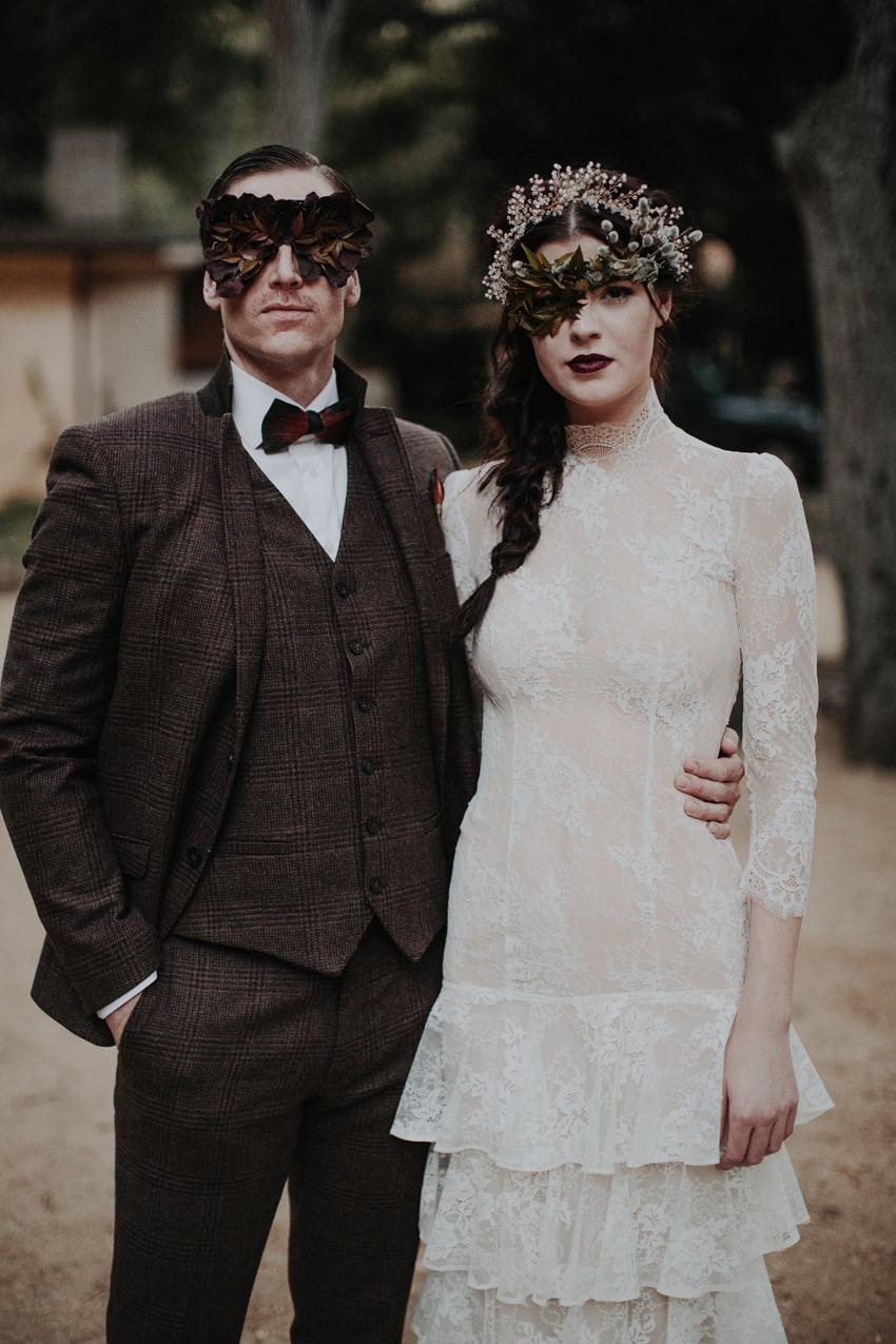 Vintage Halloween Wedding