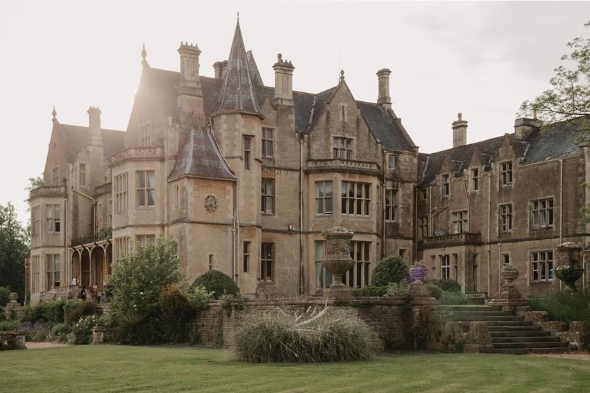 English Country House Wedding Venue