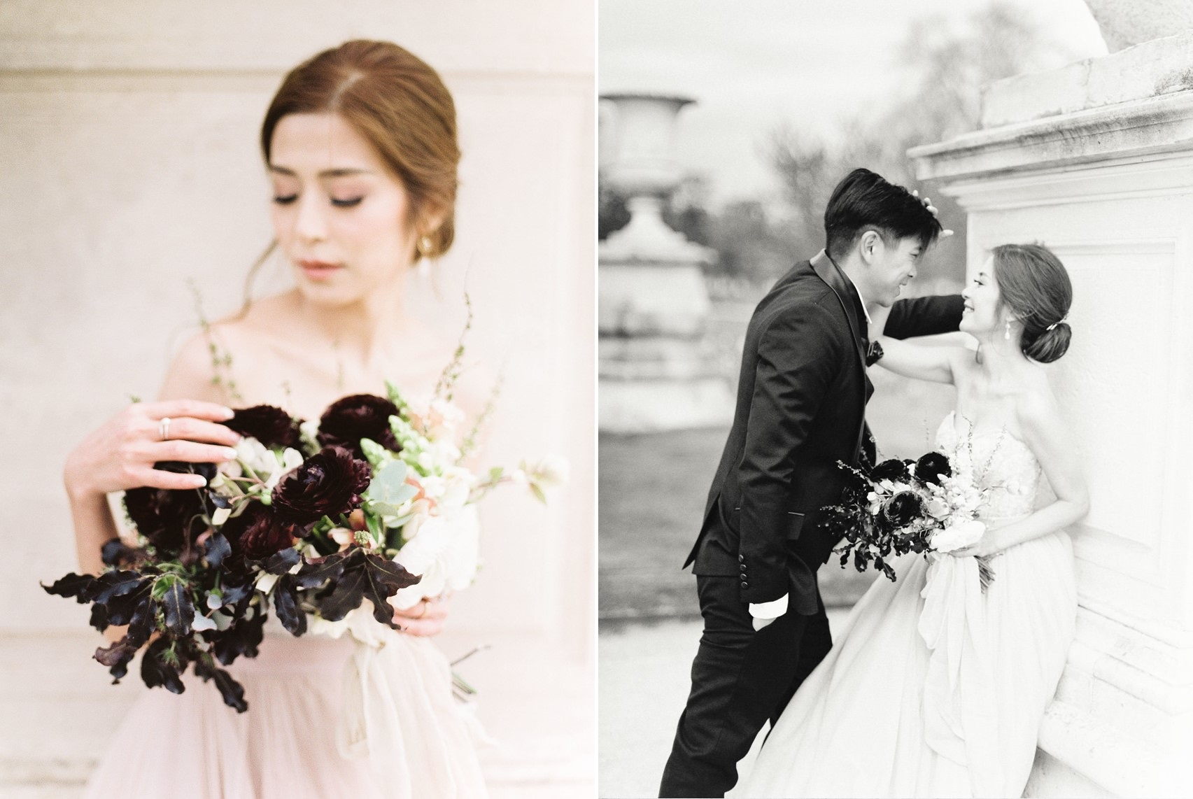 Fine Art Paris Wedding Film Photography