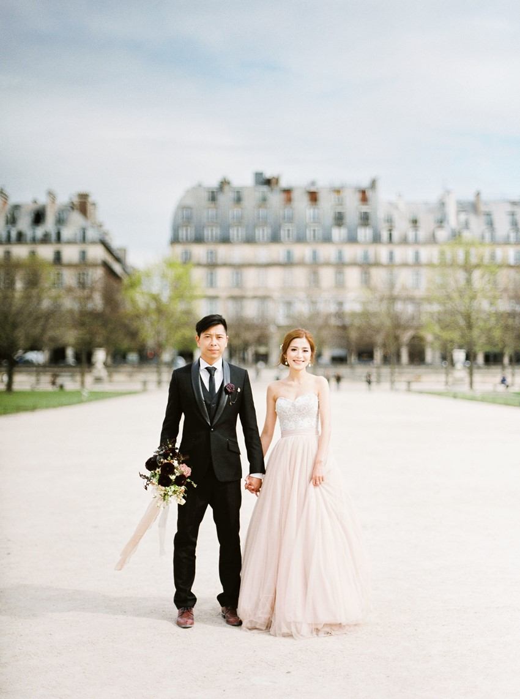 Paris Wedding Elopement Inspiration