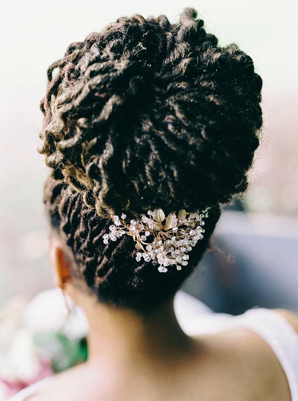 Elegant Bridal Updo