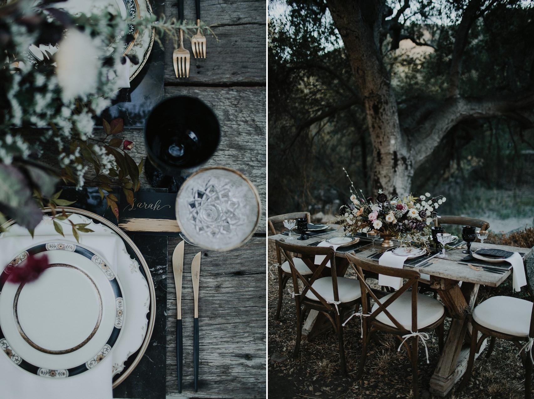 Halloween Wedding Table