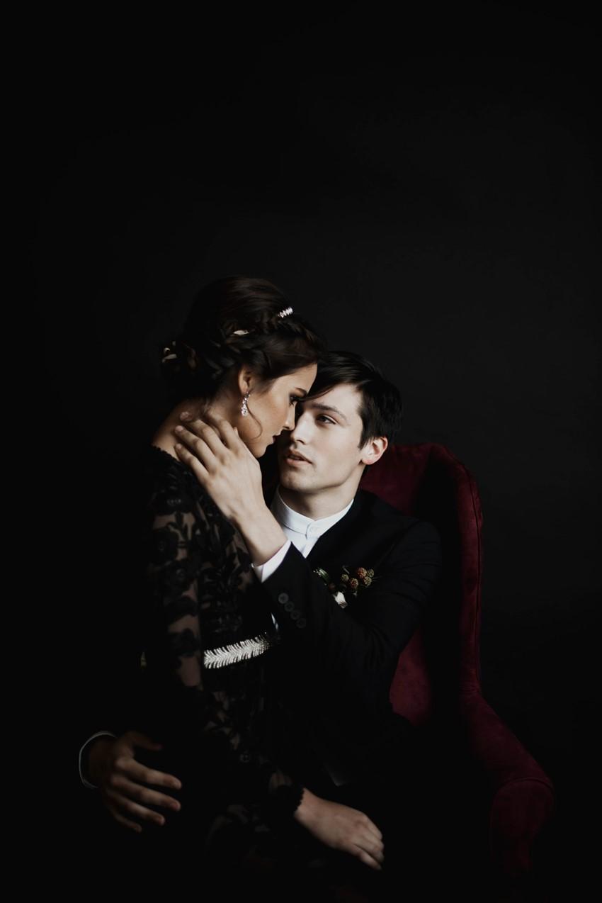 Dark & Moody Vampire Wedding