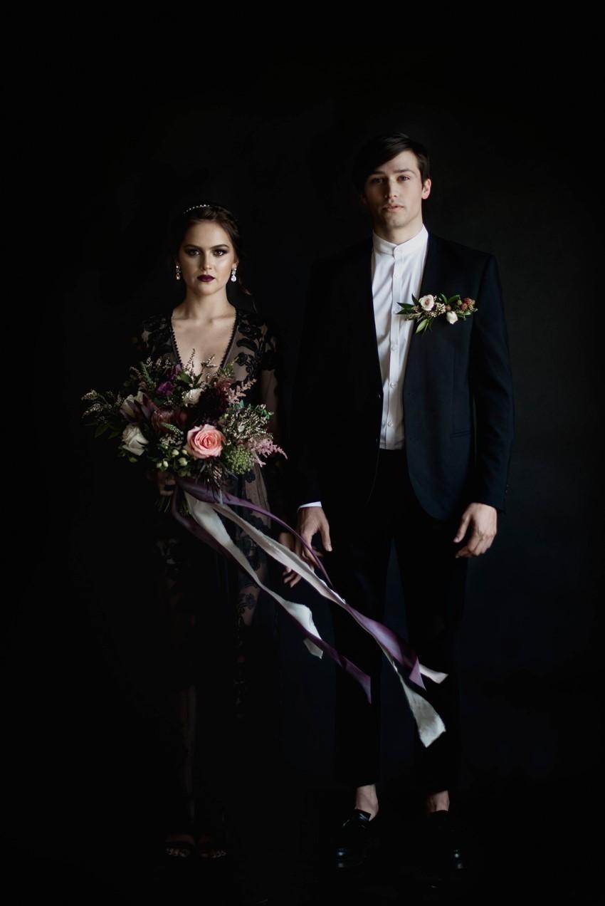 Twilight Halloween Wedding Inspiration