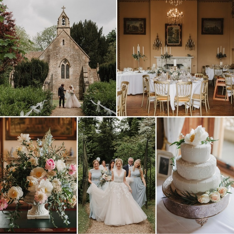 A Timelessly Romantic English Country Estate Wedding at Orchardleigh House