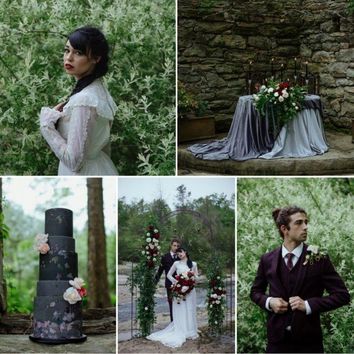 Edwardian Inspired Riverside Wedding