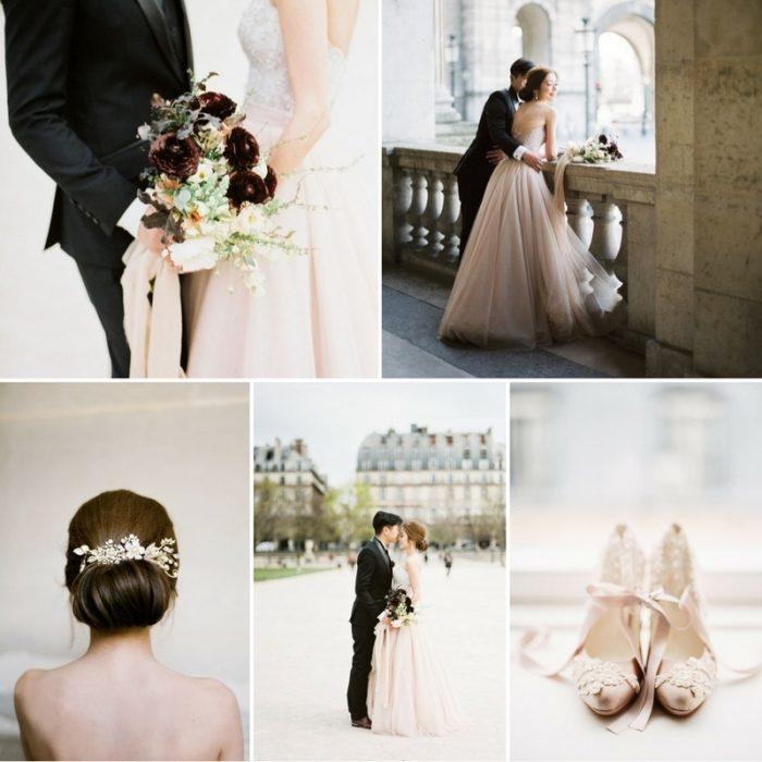 Matin à Paris - Romantic Paris Elopement Inspiration