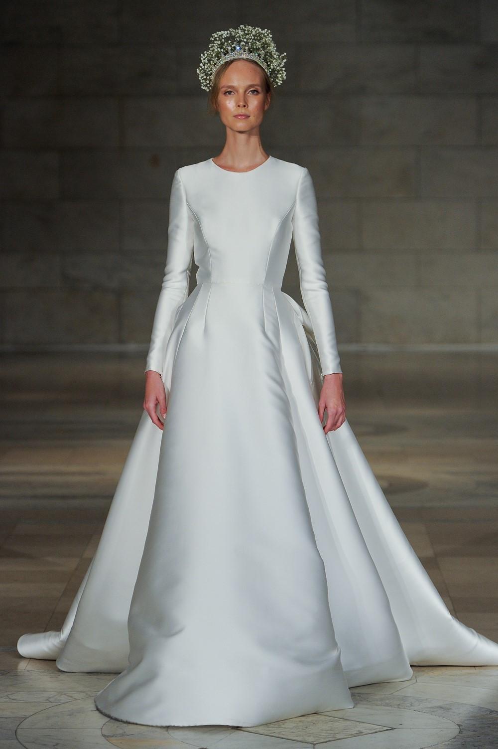 Reem Acra 2018 Wedding Dress 1
