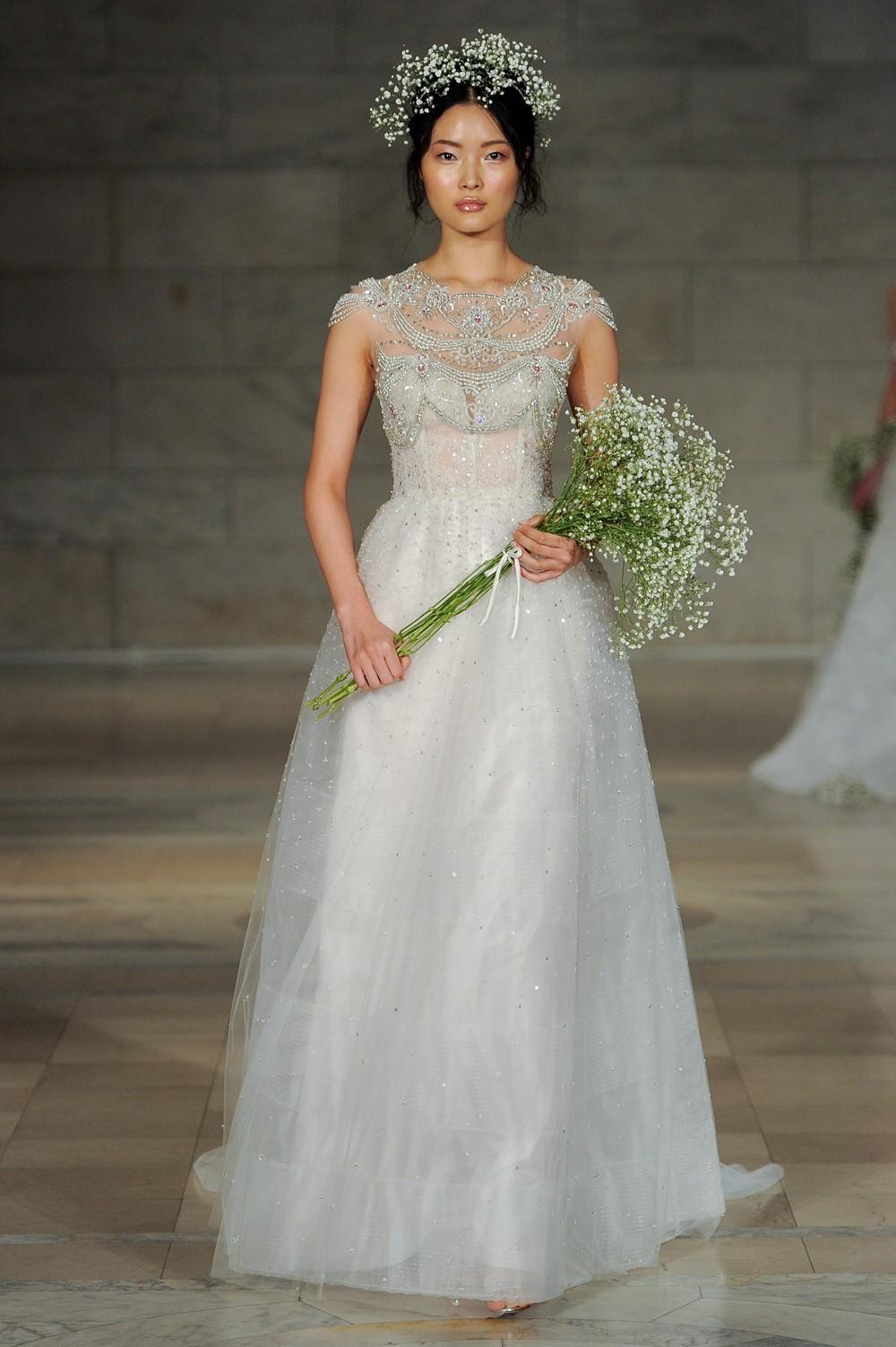 Reem Acra 2018 Wedding Dress 16