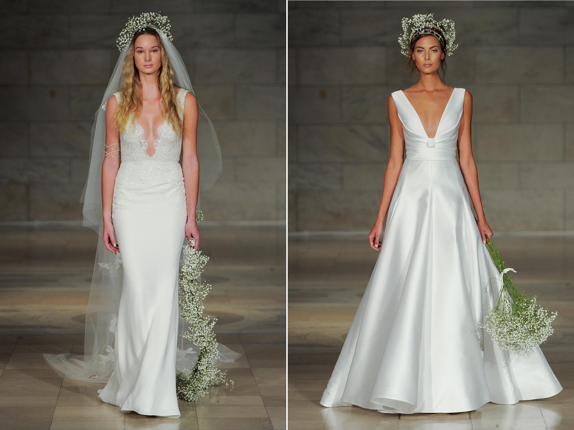 Reem Acra 2018 Wedding Dresses