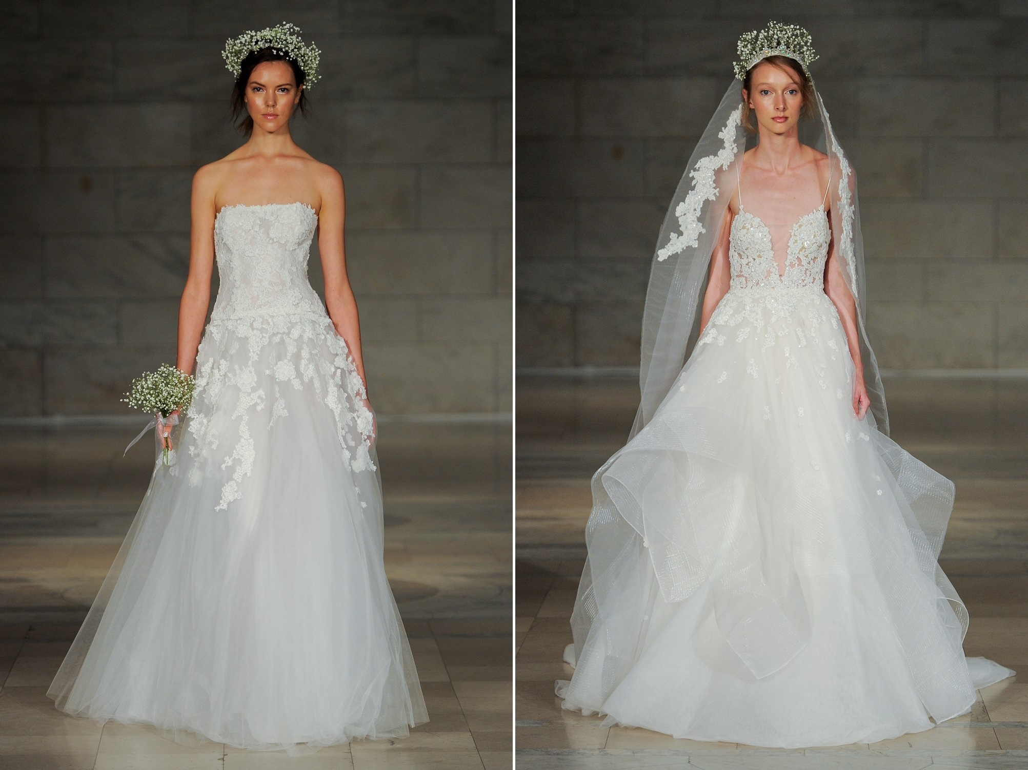 Reem Acra's 2018 Bridal Collection