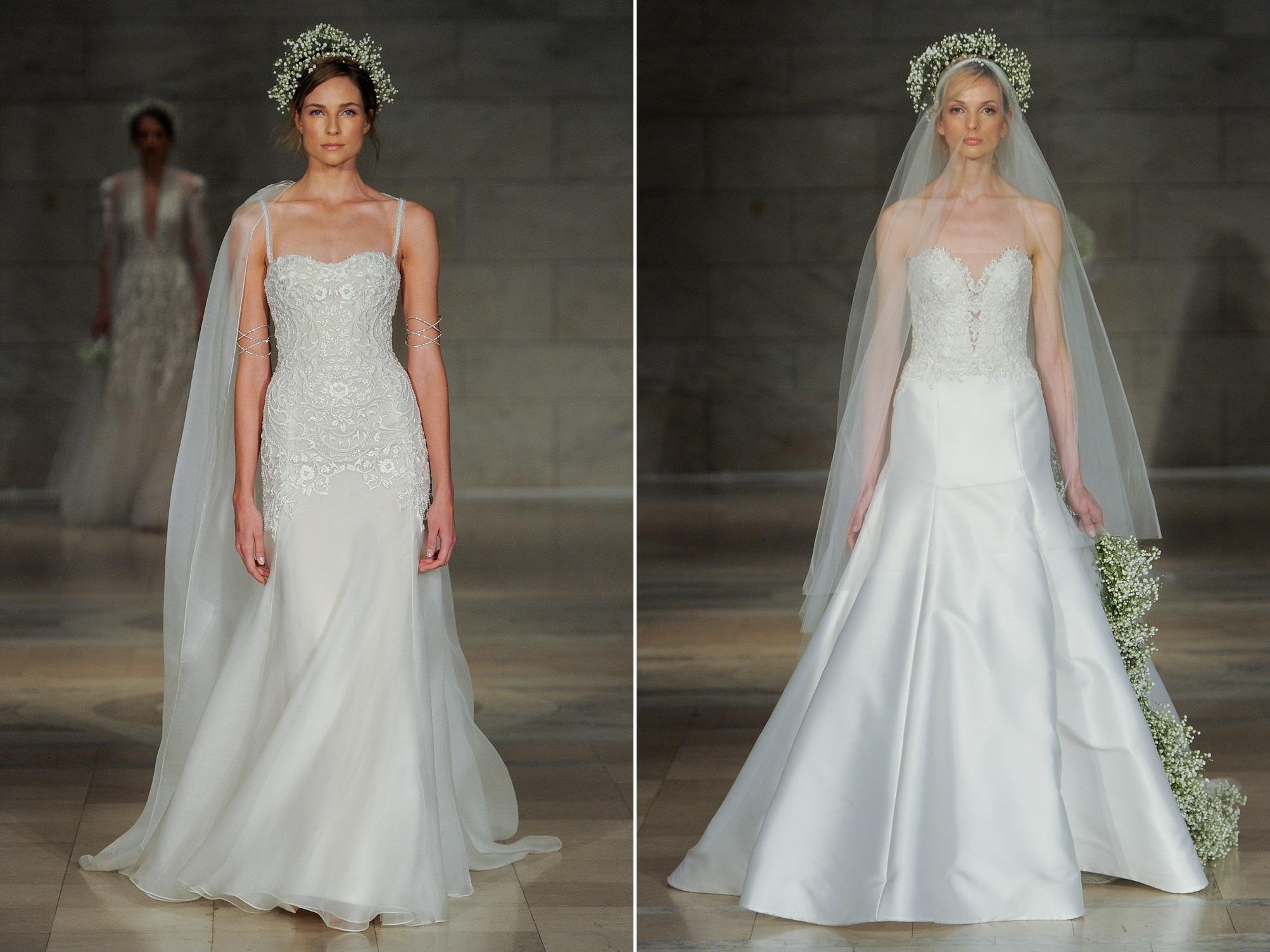 Reem Acra's 2018 Wedding Dress Collection