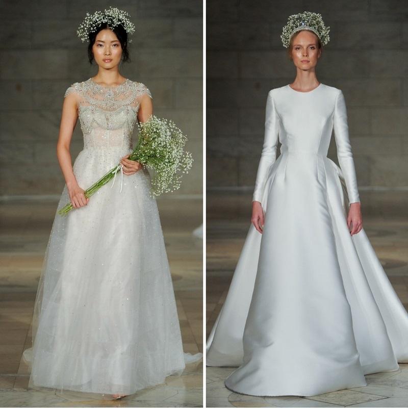 Reem Acra's Bridal Collection 2018