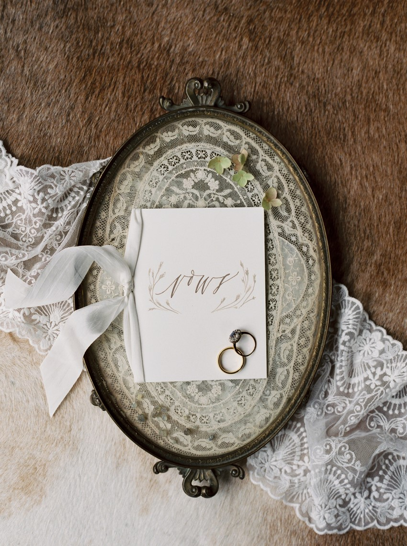 Vintage Wedding Vows