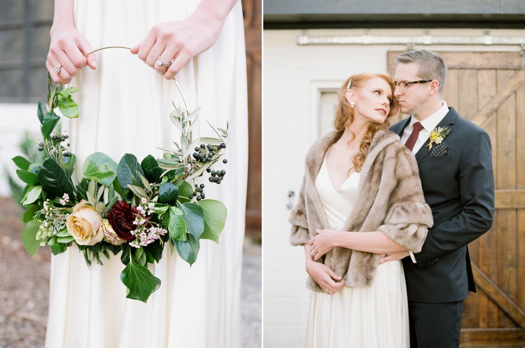 Circle Bridal Bouquet