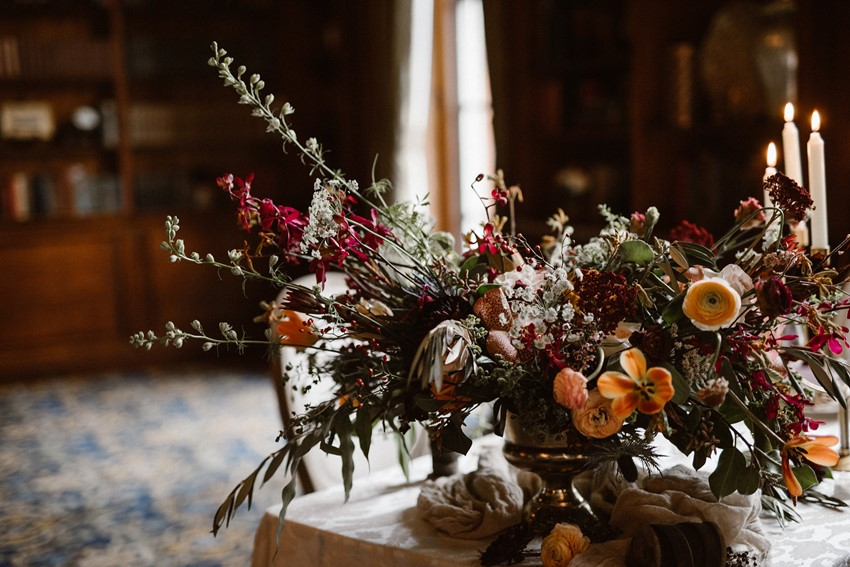 Hampshire House Elopement Flowers