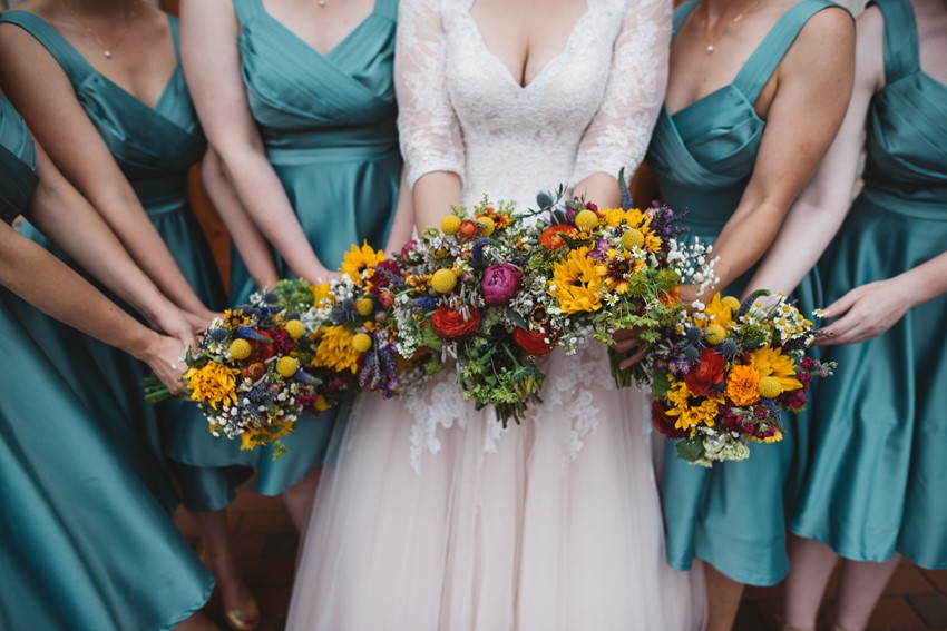 Bride & Bridesmaids Bouquets