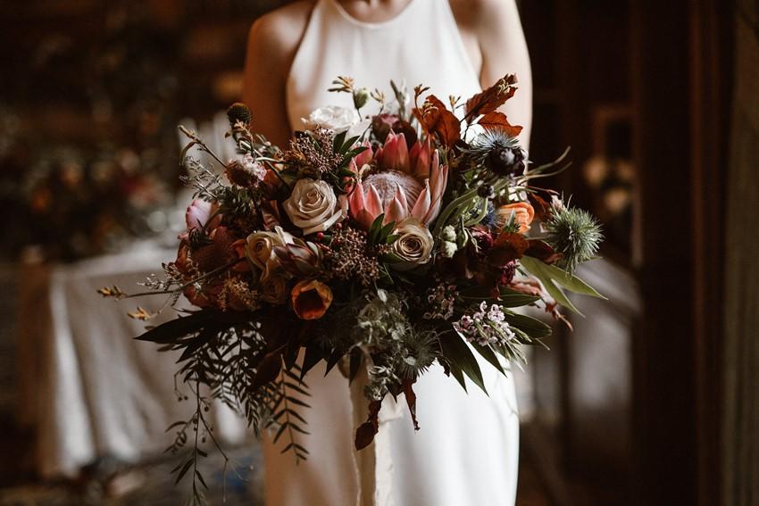 Opulent Modern Bridal Bouquet