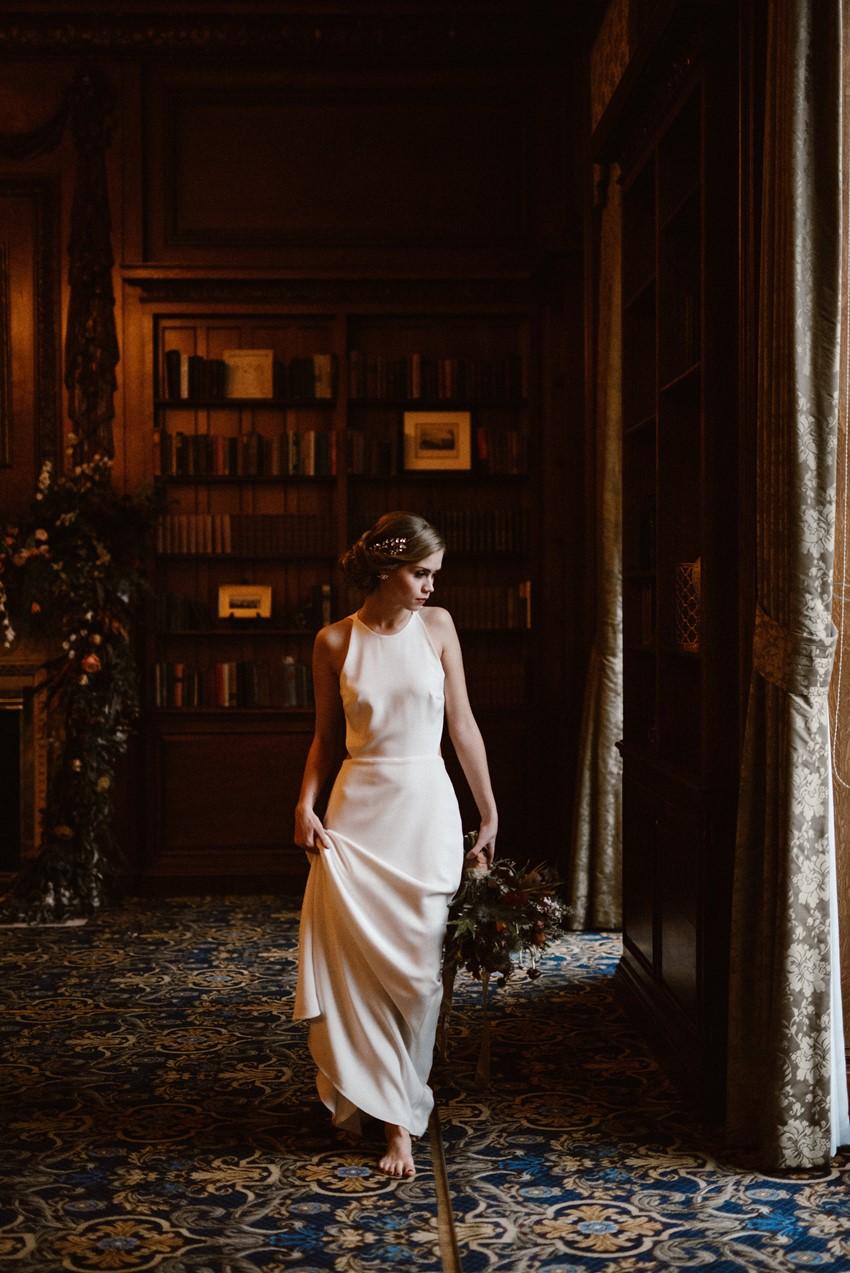 Modern Vintage Bride Inspired by Grace Kelly