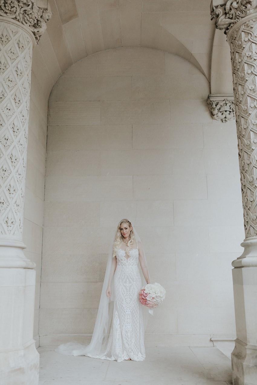 Glamorous Modern Bride