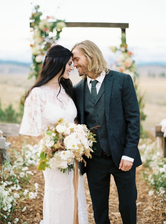Romantic Rustic Vintage Ranch Wedding