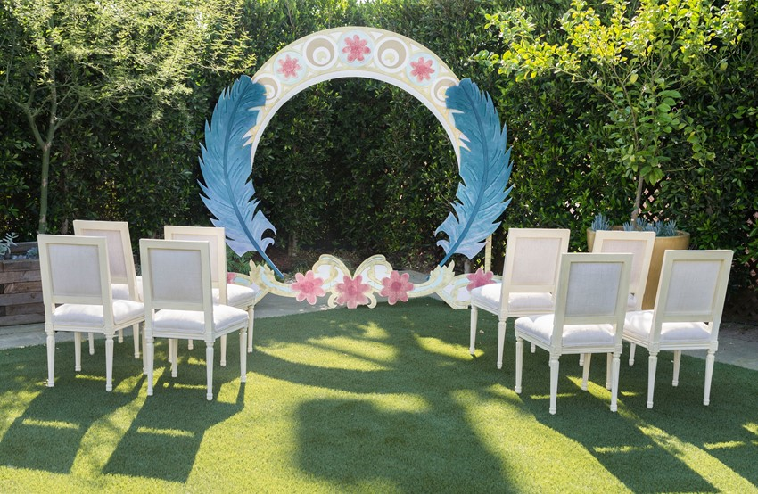 Unique Wedding Ceremony Backdrop