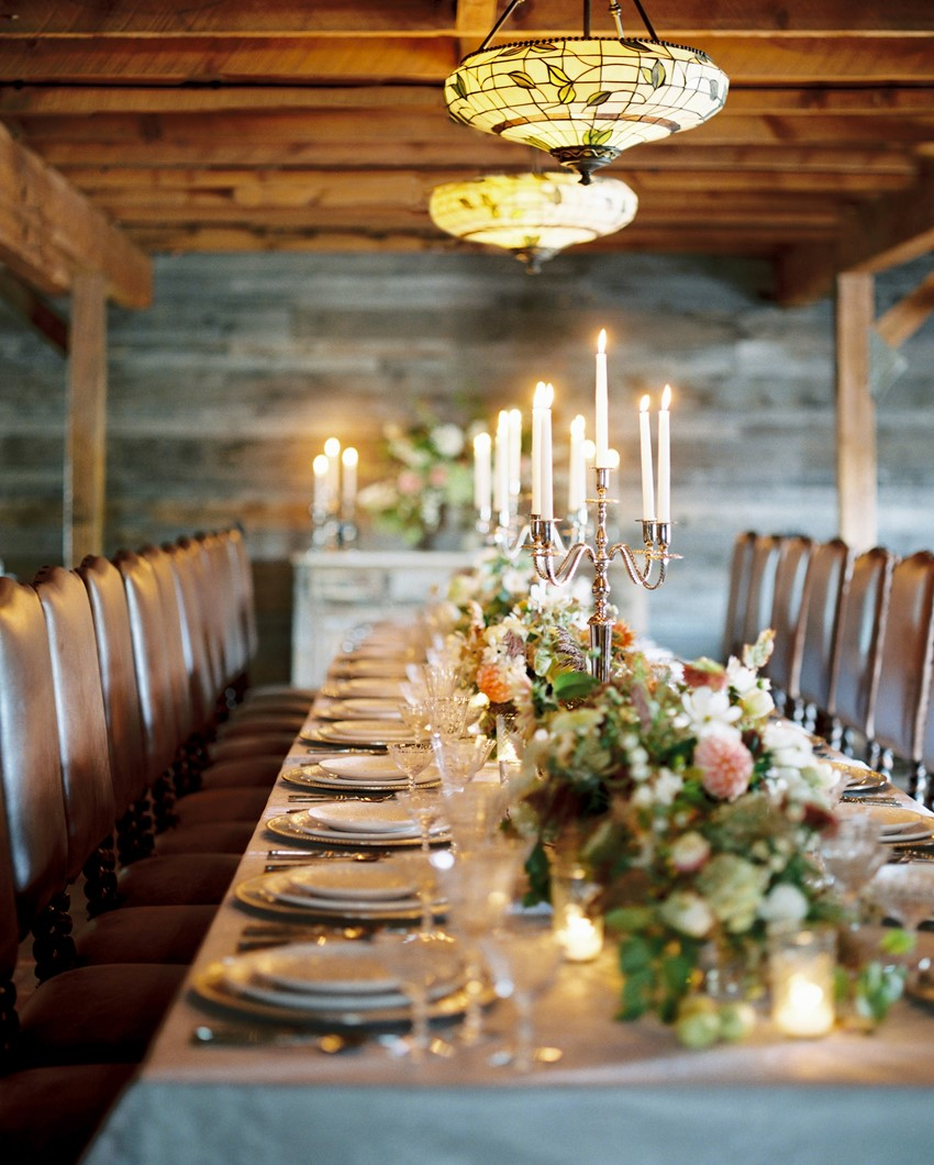 Romantic Vintage Wedding Table