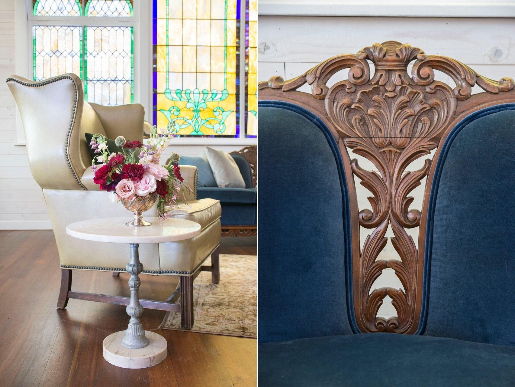 Art Nouveau Wedding Decor