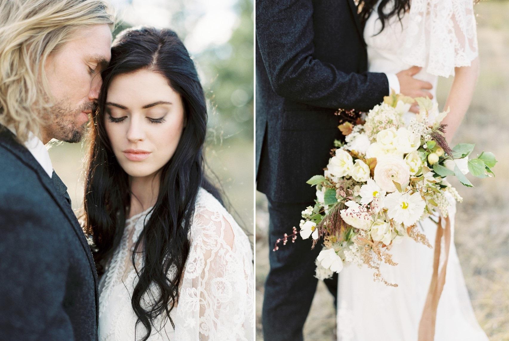 Rustic Vintage Bridal Bouquet