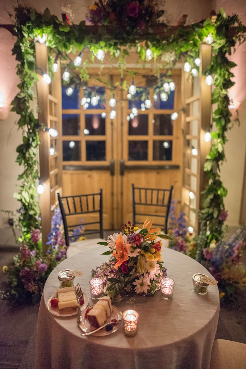 Wedding Sweetheart Table