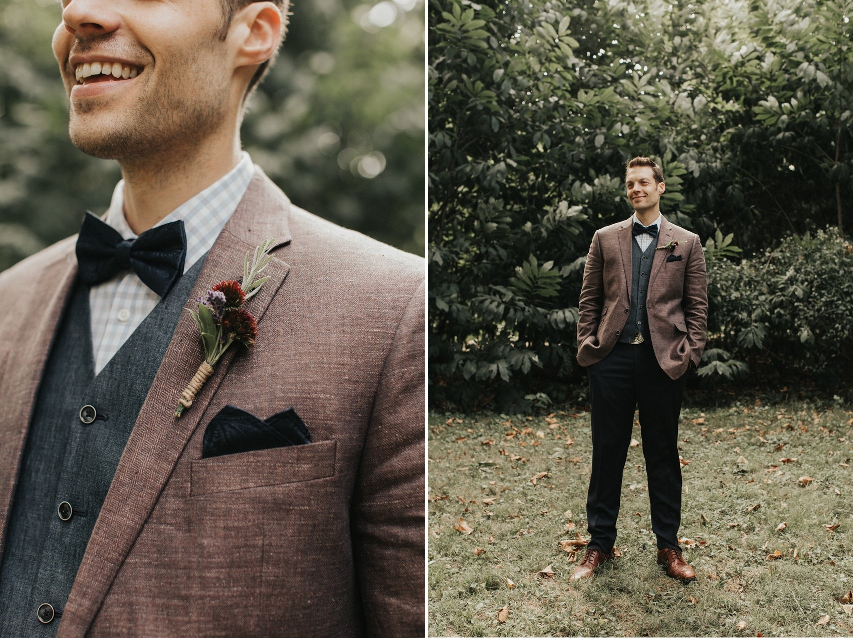 Vintage Inspired Fall Groom