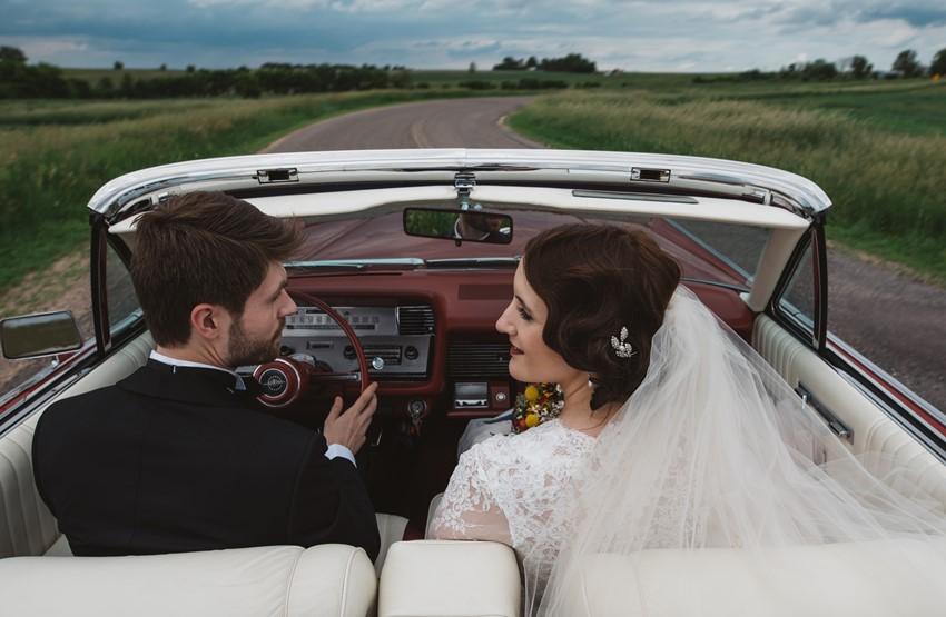 Vintage Wedding Getaway